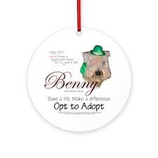 Holiday Benny Keepsake (Round)