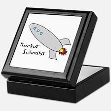 Rocket Scientist Keepsake Box