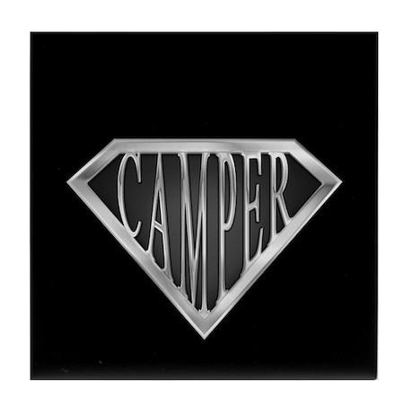 SuperCamper(metal) Tile Coaster