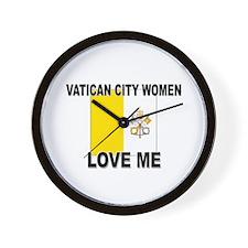 Vatican City Love Me Wall Clock