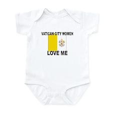 Vatican City Love Me Infant Bodysuit