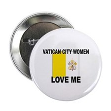 "Vatican City Love Me 2.25"" Button (10 pack)"
