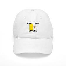 Vatican City Love Me Baseball Cap