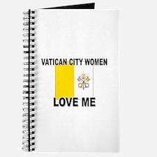 Vatican City Love Me Journal