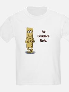 1st Graders Rule T-Shirt