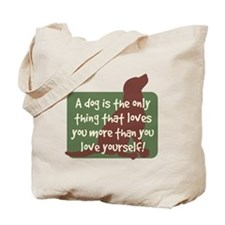 Chocolate Lab Love - Tote Bag