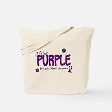 I Wear Purple 14 (CF Awareness) Tote Bag