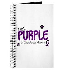 I Wear Purple 14 (CF Awareness) Journal