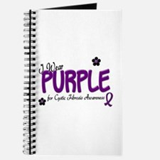 I Wear Purple 14 (CF Awareness) Journal