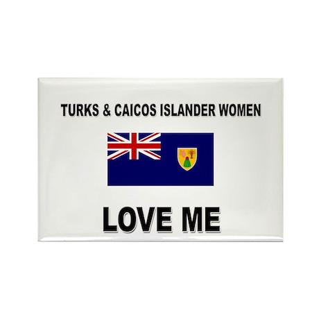 Turks & Caicos Islander Love Me Rectangle Magnet