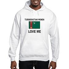 Turkmenistani Love Me Hoodie