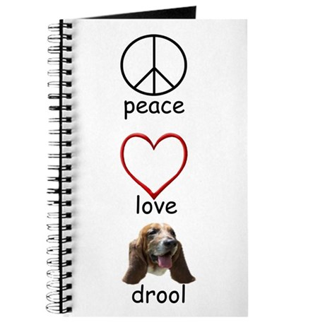 Peace Love Drool - Color Journal