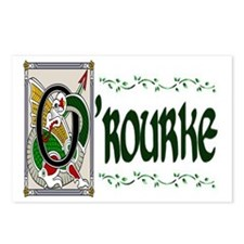 O'Rourke Celtic Dragon Postcards (Package of 8)