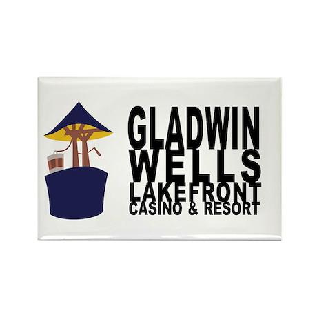 Gladwin Wells Rectangle Magnet