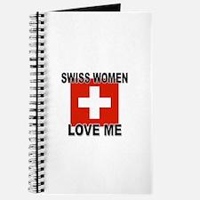 Swiss Love Me Journal
