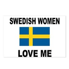 Swedish Love Me Postcards (Package of 8)