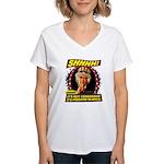 Freedom Silence Women's V-Neck T-Shirt