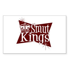Smut Kings Red Logo Rectangle Decal