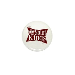 Smut Kings Red Logo Mini Button (10 pack)