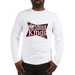 Smut Kings Red Logo Long Sleeve T-Shirt