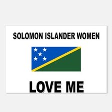 Solomon Islander Love Me Postcards (Package of 8)