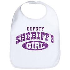 Deputy Sheriff's Girl Bib