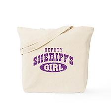 Deputy Sheriff's Girl Tote Bag