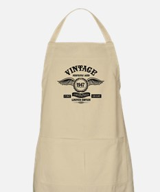Vintage Perfectly Aged 1947 Light Apron