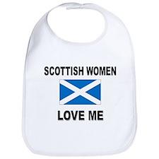 Scottish Love Me Bib