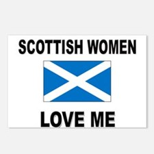 Scottish Love Me Postcards (Package of 8)