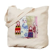 Cute Kids russian Tote Bag