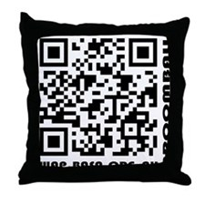 BASA Mobile Barcode Throw Pillow