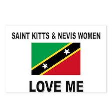 Saint Kitts & Nevis Love Me Postcards (Package of