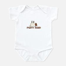 Party Hard Infant Bodysuit