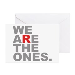 We Are The Ones Greeting Cards (Pk of 20)