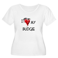 I Love My Budgie T-Shirt