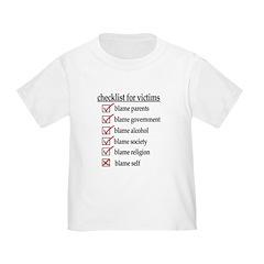 Checklist For Victims T