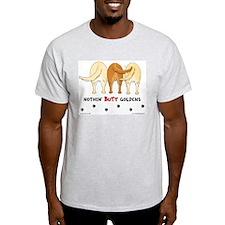Nothin' Butt Goldens Ash Grey T-Shirt