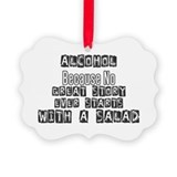 Alcohol Picture Frame Ornaments