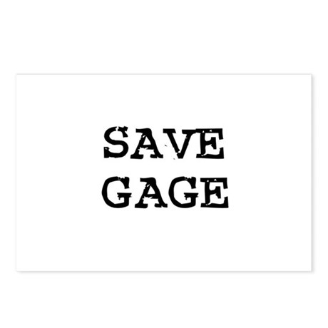 Save Gage Postcards (Package of 8)