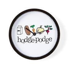 Cute Hodge Wall Clock