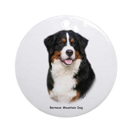 Bernese Mountain Dog 9Y348D-115 Ornament (Round)