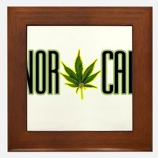 NOR CAL -- T-SHIRTS Framed Tile