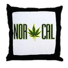 NOR CAL -- T-SHIRTS Throw Pillow