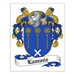 Lammie Family Crest Small Poster