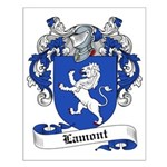 Lamont Family Crest Small Poster