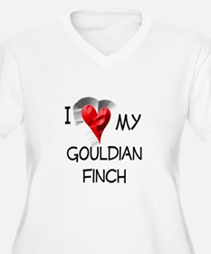 I Love My Gouldian Finch T-Shirt