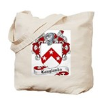 Langlands Family Crest Tote Bag