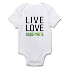 Live Love Underwrite Infant Bodysuit