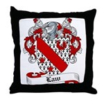 Law Family Crest Throw Pillow